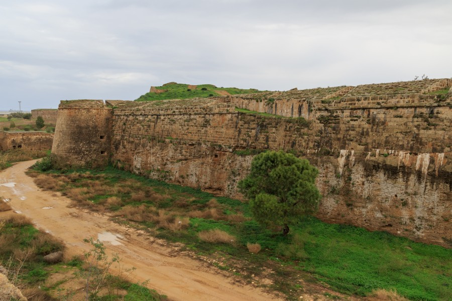 Famagusta 01-2017 img03 city walls DeMezzo Bastion