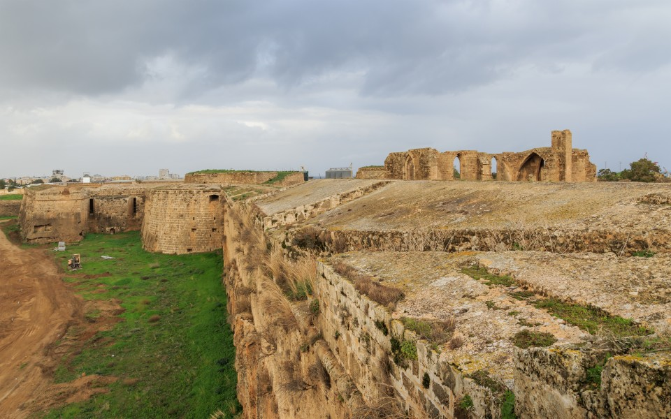 Famagusta 01-2017 img09 city walls Pulacazaro Bastion
