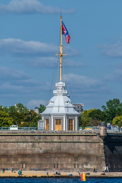 Flag Tower of Peter and Paul Fortress