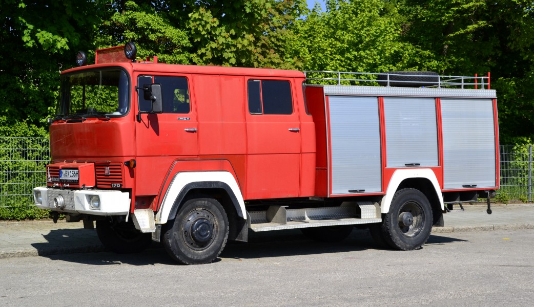 Former Magirus-Deutz 170D11 fire engine in Bavaria