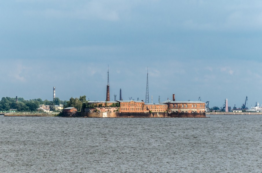 Fort Peter I in Kronstadt