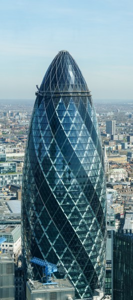 Gherkin from the Sky Garden 2015