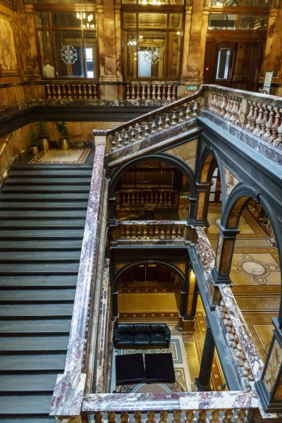 Glasgow City Chambers - Freestone Staircase - 5