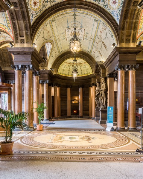 Glasgow City Chambers - Ground Floor Entrance