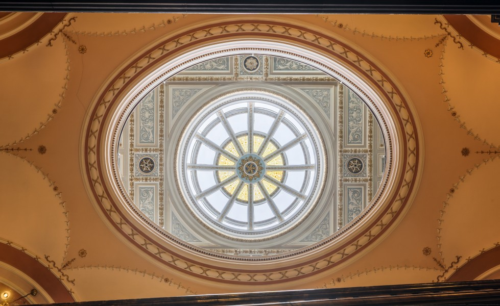 Glasgow City Chambers - Skylight