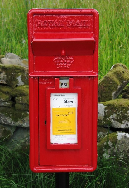 Glassnakille Skye Postbox