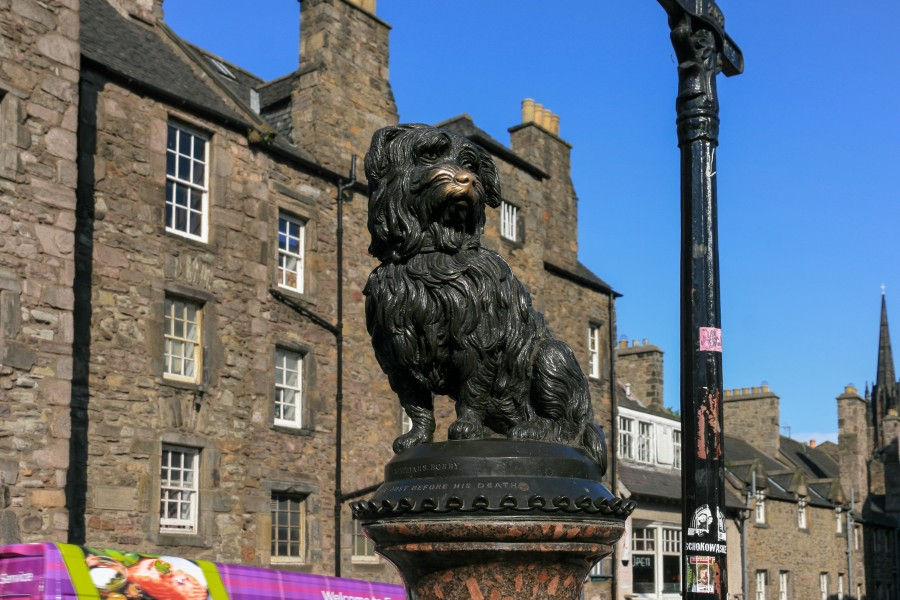 Greyfriars Bobby Memorial Fountain