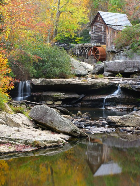 Grist-mill-creek-reflections - West Virginia - ForestWander