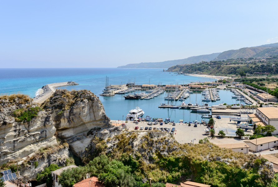 Harbour of Tropea - Calabria - Italy - July 17th 2013 - 03