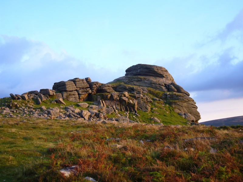 Haytor main buttress2