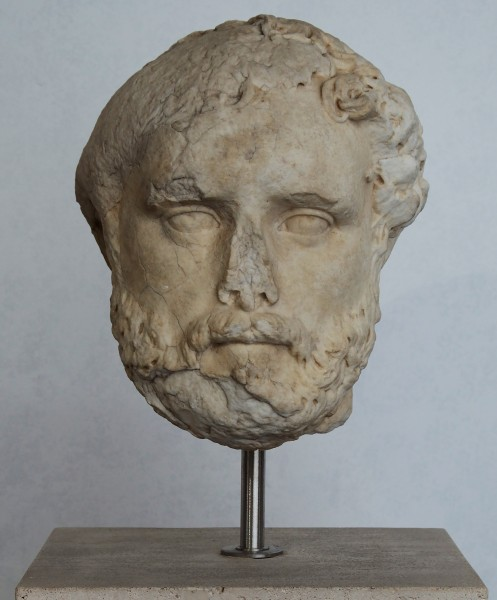 Head of Antoninus Pius in Museo Nazionale Romano