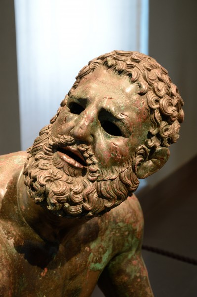Head of Boxer of Quirinal (Mys from Taranto) - Lateral view