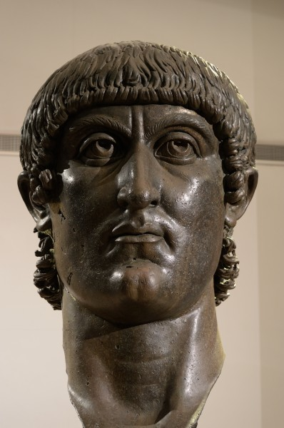Head of Constantine in Musei Capitolini