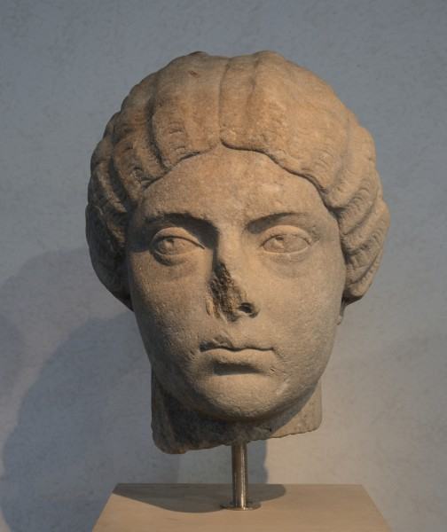 Head of Faustina Minor