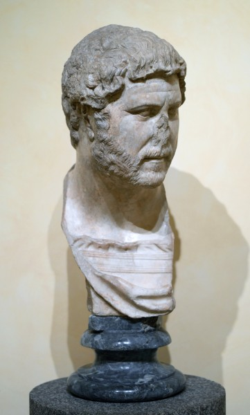 Head of Hadrian in Musei Capitolini
