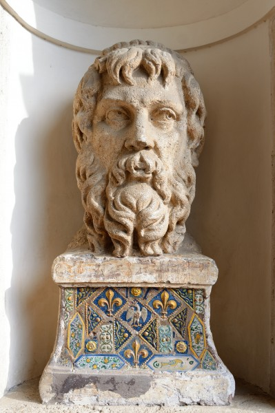 Head of Jupiter in Villa d'Este (Tivoli)