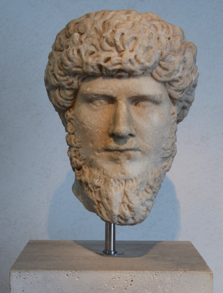 Head of Lucius Verus in Museo Nazionale Romano