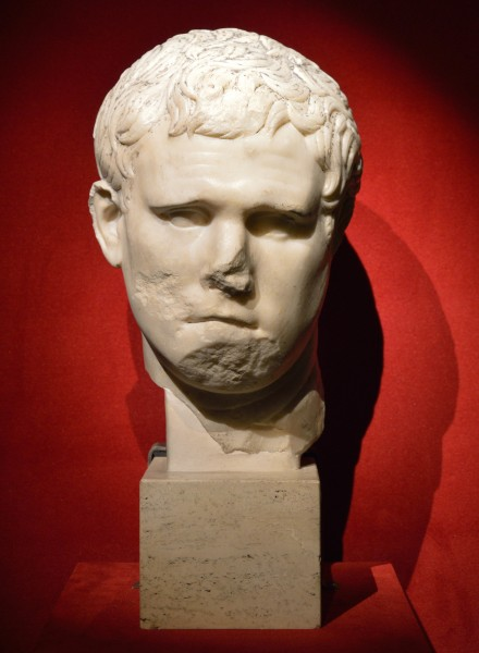 Head of Marcus Vipsanius Agrippa in Museo Nazionale Romano