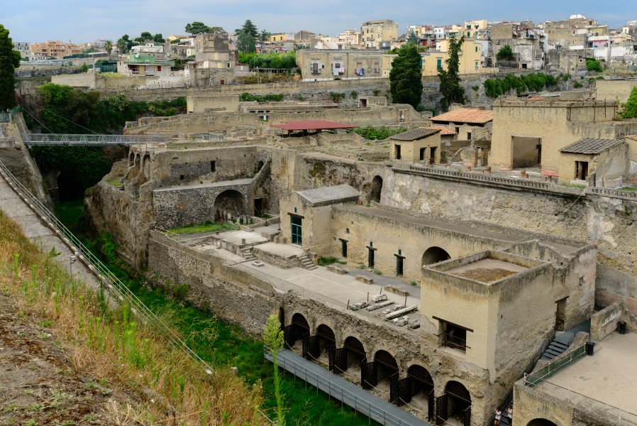 Herculaneum - Ercolano - Campania - Italy - July 9th 2013 - 07
