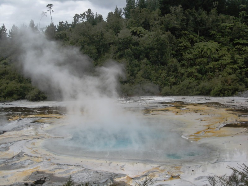 Hot pool at Orakei Korako