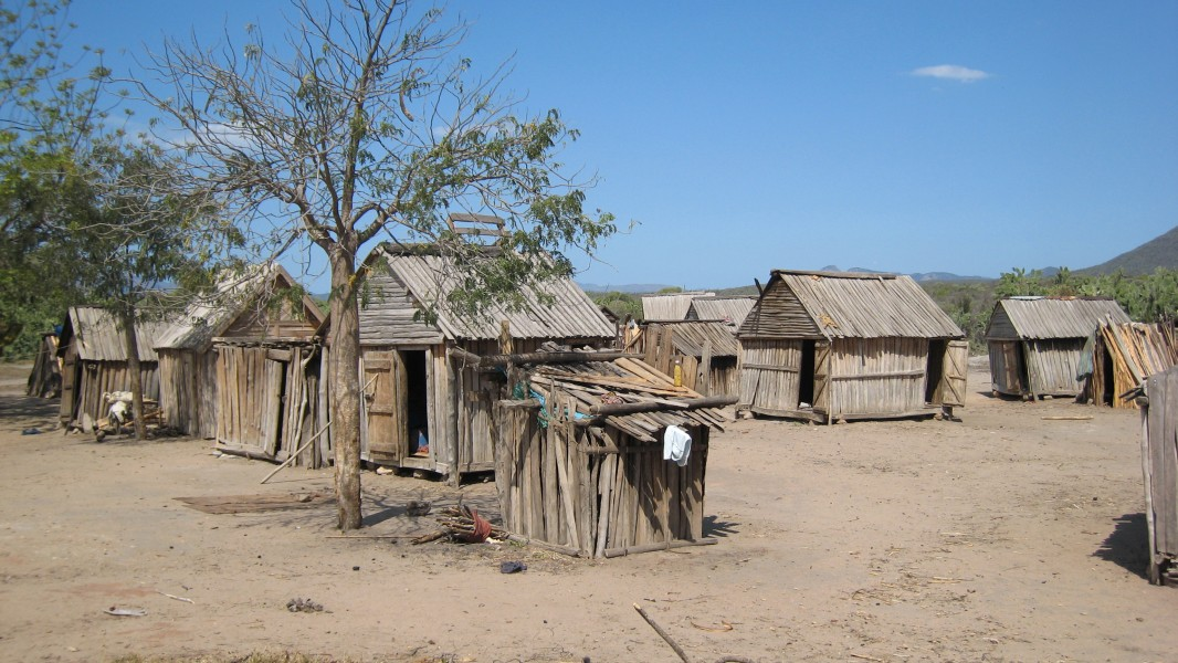 Housing in southern Madagascar 001