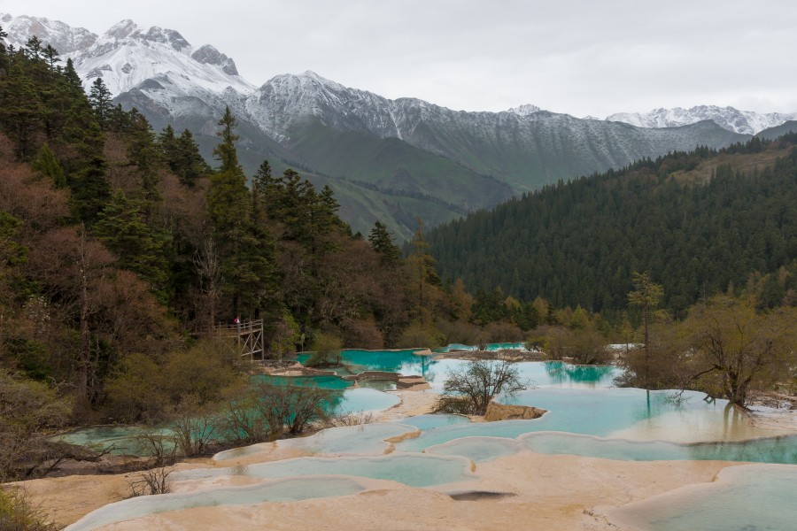 Huanglong Sichuan China Multicolored-ponds-02