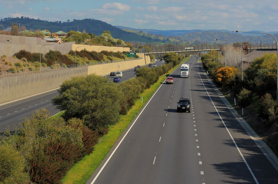 Hume Freeway at Albury 2