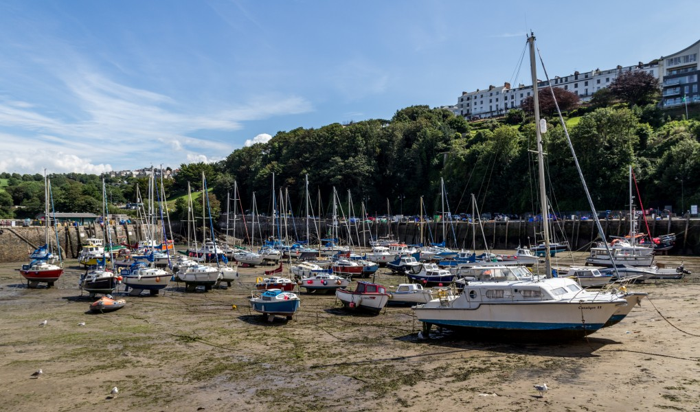 Ilfracombe (Devon, UK), Harbour -- 2013 -- 1