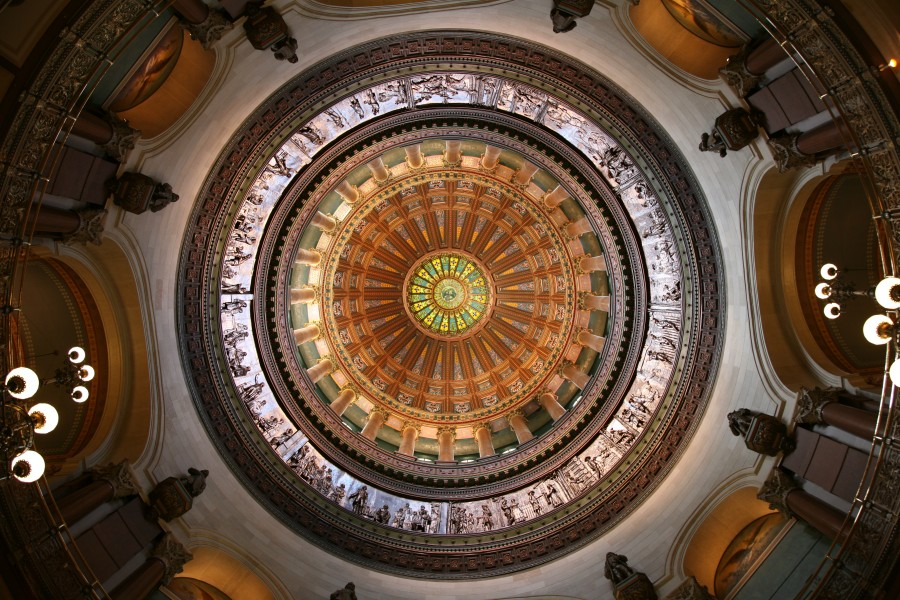 Illinois State Capitol dome