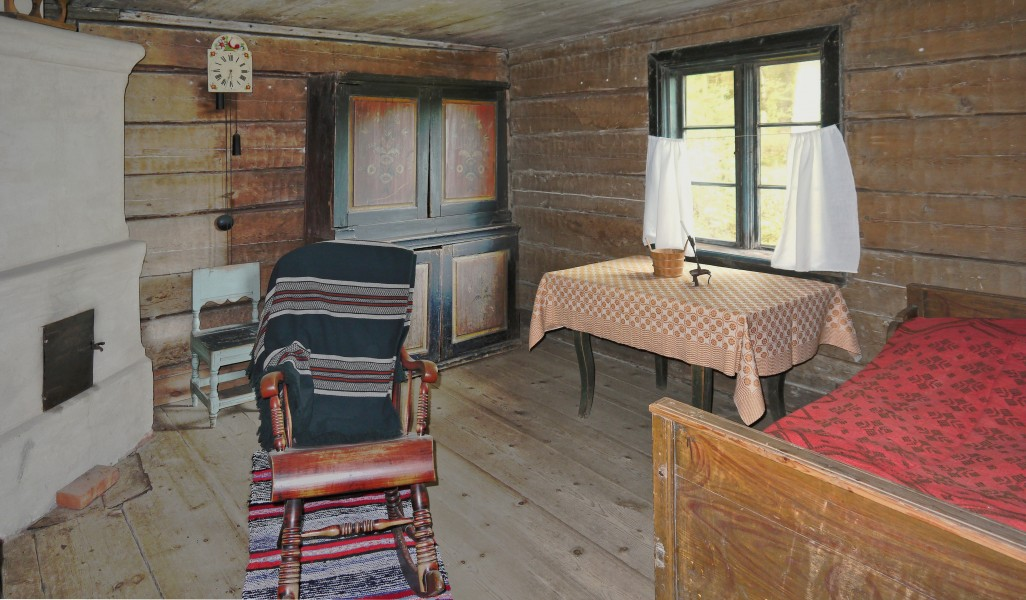 Interior of the Ivars farmstead
