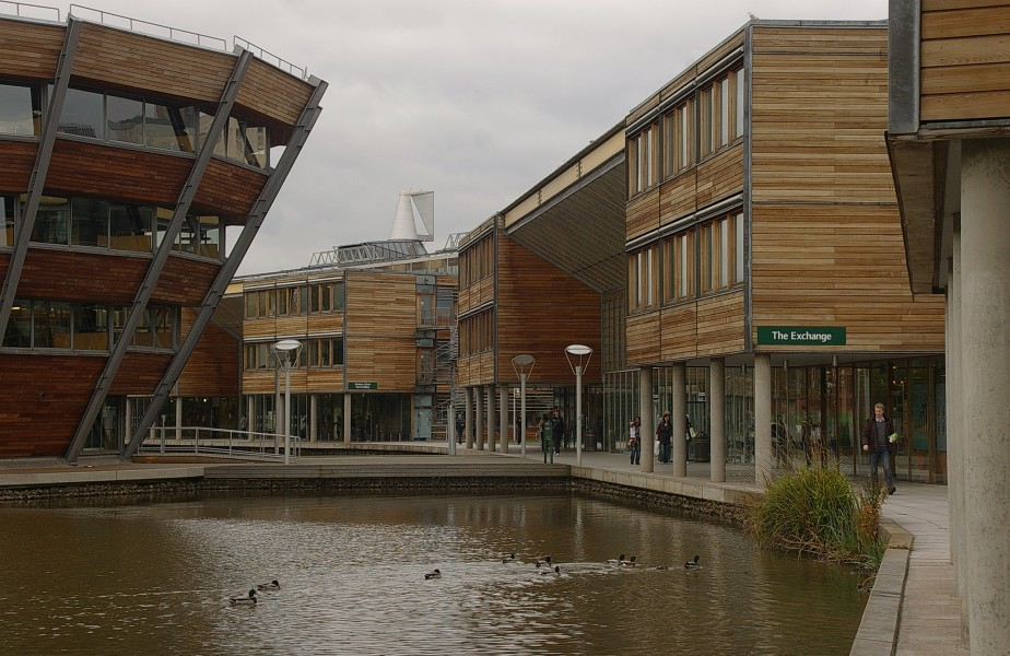 Jubilee Campus MMB 38 Djanogly LRC and The Exchange