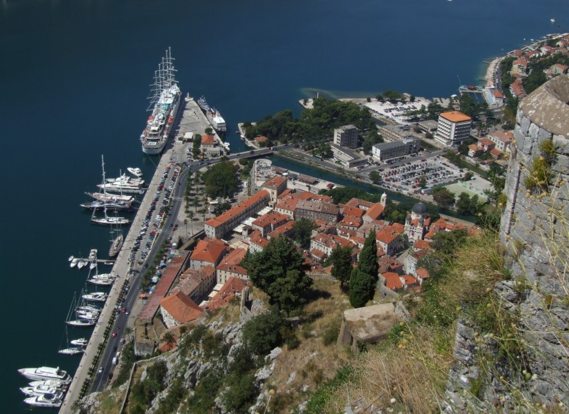 Kotor - view from city wall