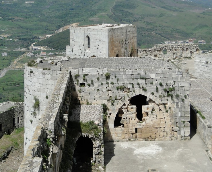 Krak des Chevaliers 30-West Tower