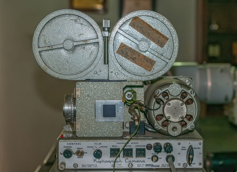 Kymograph Camera used by Doc. Francisco Risquez