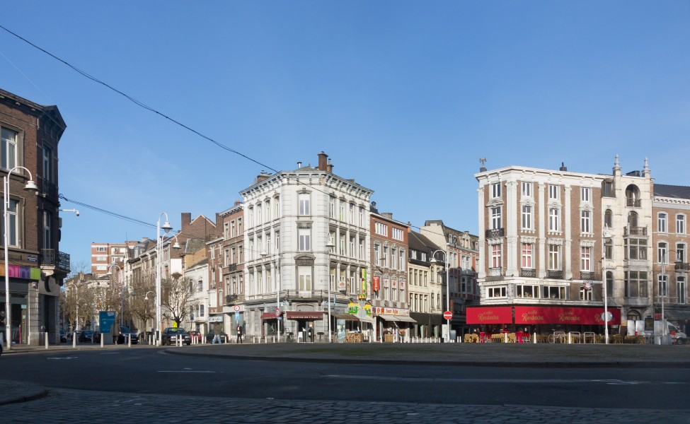 Liège, straatzicht Point Chaud foto6 2017-03-26 09.27