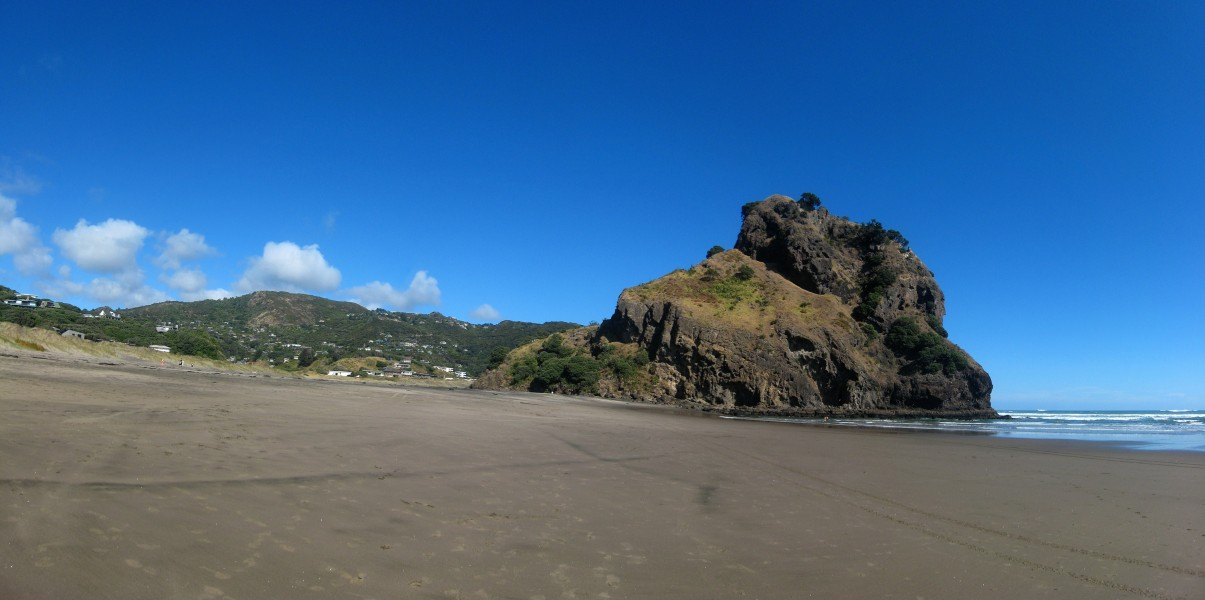 Lion Rock, from North Piha