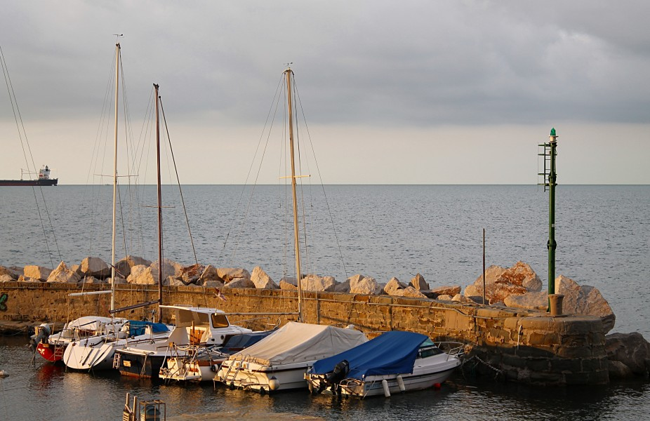 Little harbor near Trieste