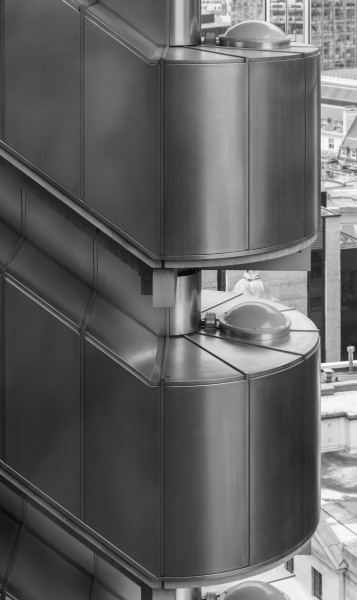 Lloyd's Building - Exterior Staircase