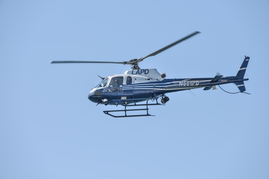 Los Angeles Police Department Helicopter