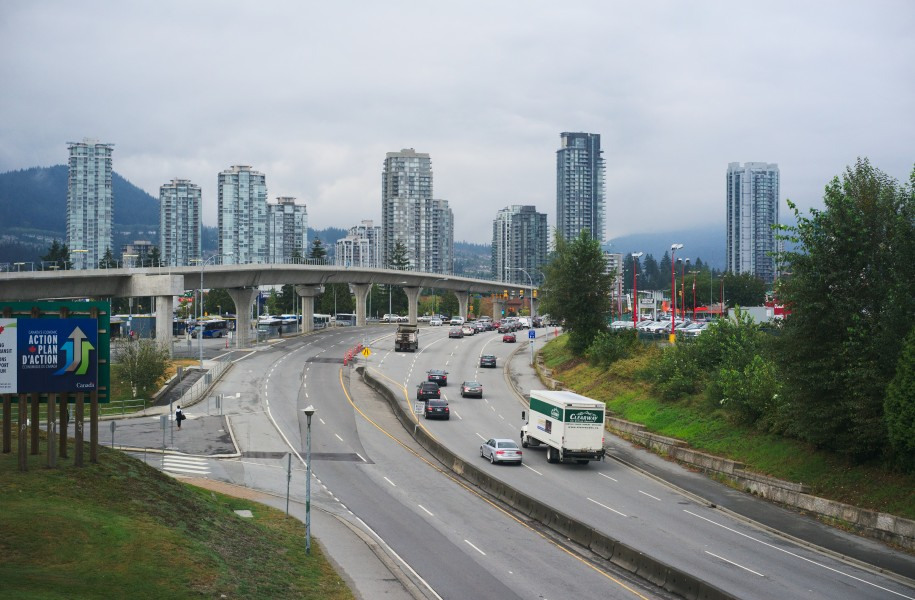 Lougheed Highway, Coquitlam BC