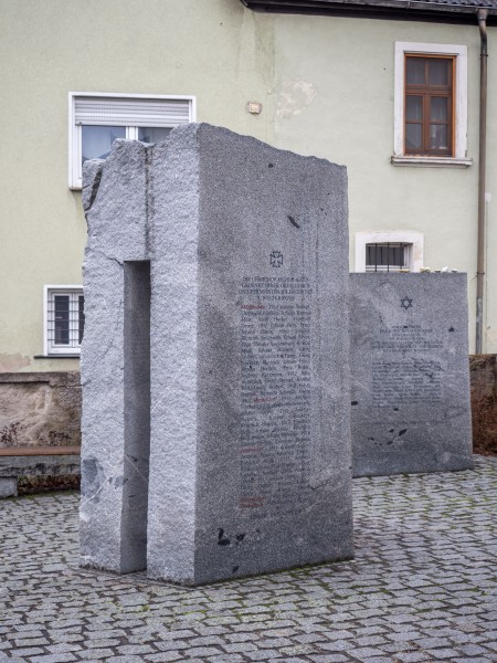 Mühlhausen Holocaust and war memorial 2110230
