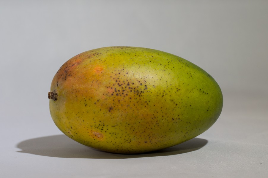 Mango on white