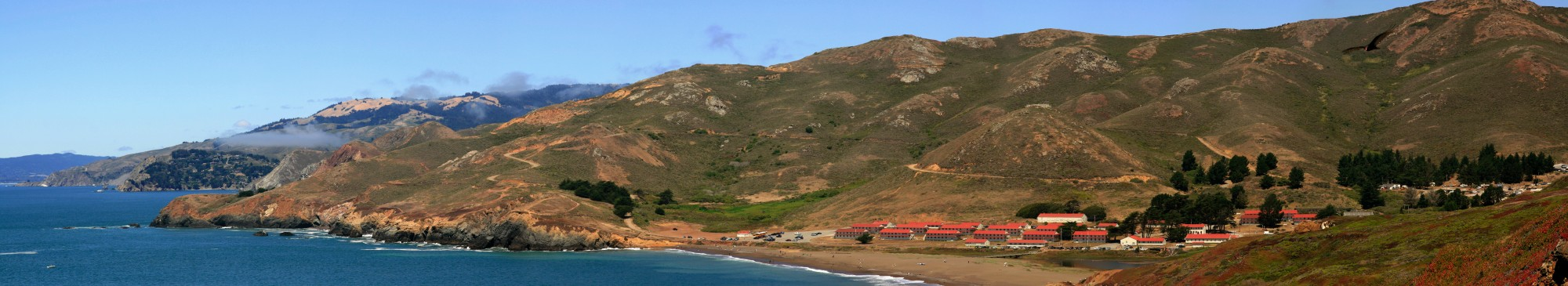 Marin Headlands with Rodeo Beach