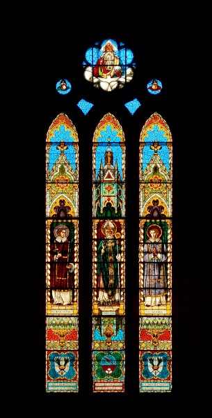 Medieval windows of Duomo (Gubbio)