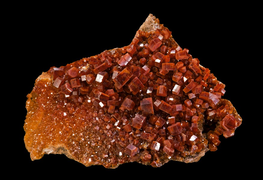 Mibladene Vanadinite