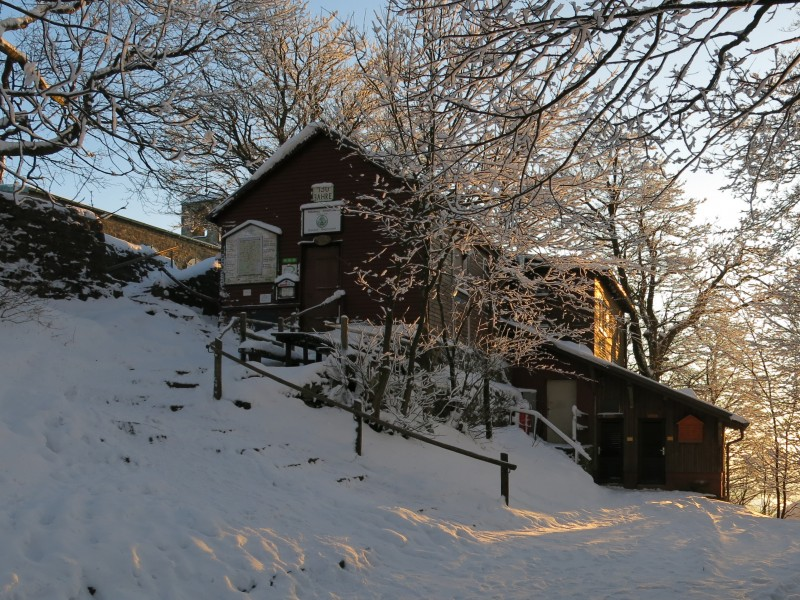 Milseburghütte (Winter)