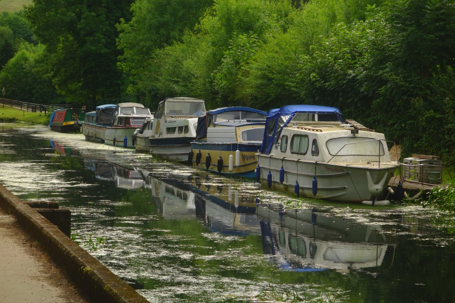 Moored at the Aqueduct