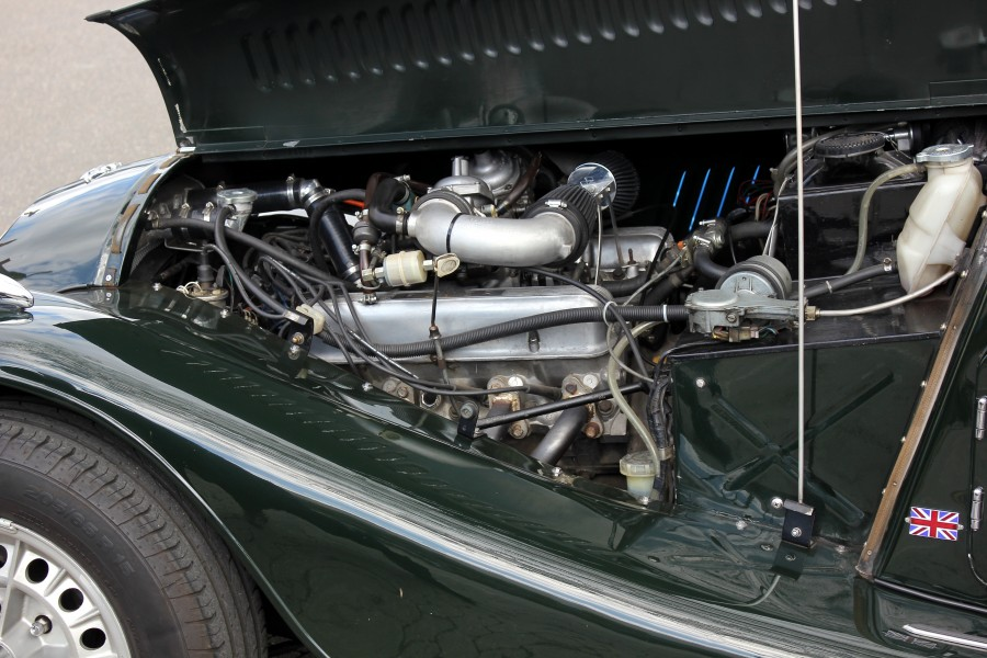 Morgan Plus 8, Motor (2016-04-18 Foto Spurzem)