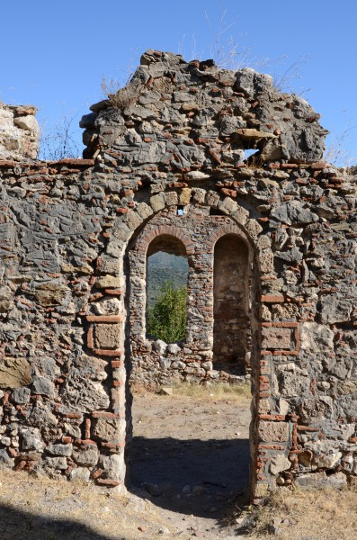 Mystras old town ruins (2)