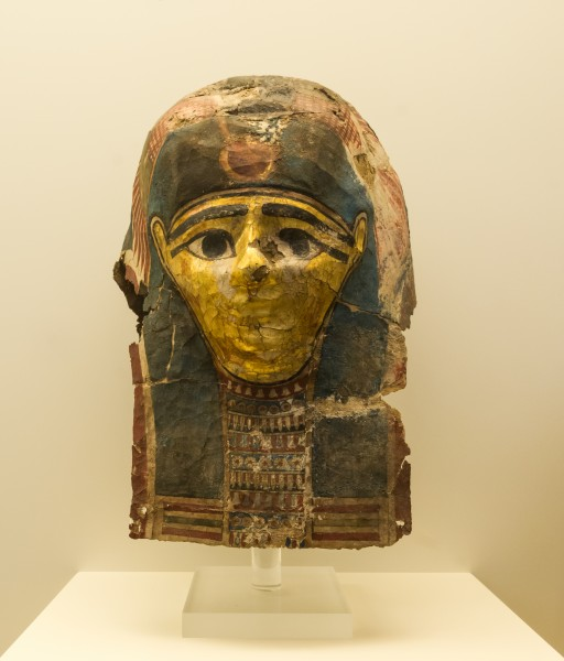 NAMA 8234a Ancient egyptian funerary mask